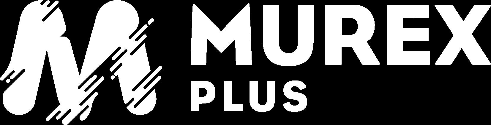 Logo Murex Plus 2020 Blanc